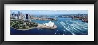 Framed Australia, Sydney, aerial