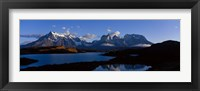 Framed Torres Del Paine, Patagonia, Chile