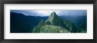 Framed Ruins, Machu Picchu, Peru