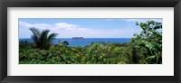Framed Manuel Antonia National Park nr Quepos Costa Rica