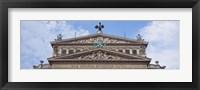 Framed Old Opera, Frankfurt, Germany