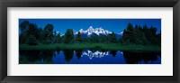 Framed Snake River & Teton Range Grand Teton National Park WY USA