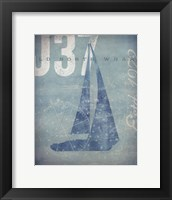Framed Nautical III