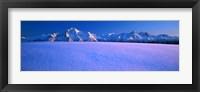 Framed Pioneer Pk Chugach Mts AK USA