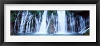 Framed McArthur-Burney Falls Memorial State Park, California