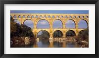 Framed Aqueduct, Pont Du Gard, Provence-Alpes-Cote d'Azur, France