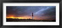 Framed Sunset, Barnegat Lighthouse State Park, New Jersey, USA