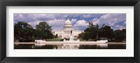 Framed Capitol Building, Washington DC