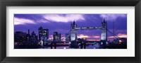 Framed Tower Bridge, Landmark, London, England, United Kingdom