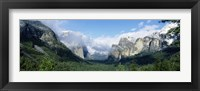Framed Yosemite National Park CA USA