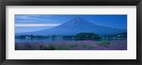 Framed Mount Fuji Japan
