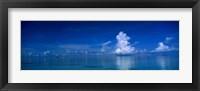 Framed Sea & Clouds The Maldives