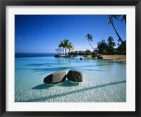 Framed Resort Tahiti French Polynesia