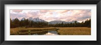 Framed Grand Teton National Park WY USA