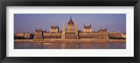 Framed Hungary, Budapest, View of the Parliament building