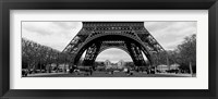 Framed Low section view of a tower, Eiffel Tower, Paris, France