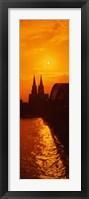 Framed Hohenzollern Bridge, Cologne, Germany