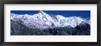 Framed Cho Oyu from Goyko Valley Khumbu Region Nepal