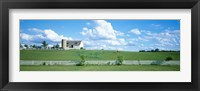 Framed Dairy Farm Janesville, Wisconsin, USA
