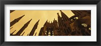 Framed La Sagrada Familia Barcelona Spain