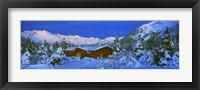 Framed Cabin Mount Alyeska, Alaska, USA
