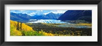Framed Mantanuska Glacier AK USA
