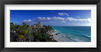 Framed El Castillo Tulum Mexico