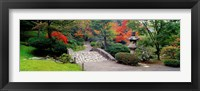 Framed Stone Bridge, The Japanese Garden, Seattle, Washington State