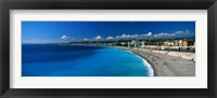 Framed Mediterranean Sea French Riviera Nice France