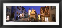 Framed Germany, Rothenburg ob der Tauber