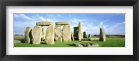 Framed Stonehenge, Wiltshire, England, United Kingdom