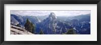 Framed Half Dome High Sierras Yosemite National Park CA