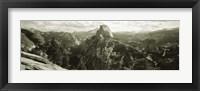 Framed USA, California, Yosemite National Park, Half Dome