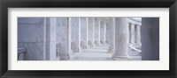 Framed Columns of a government building, Arlington, Arlington County, Virginia, USA