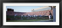 Framed Football Game, Soldier Field, Chicago, Illinois, USA