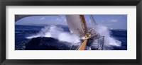 Framed Yacht Race, Caribbean