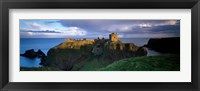 Framed High angle view of a castle, Dunnottar Castle, Grampian, Stonehaven, Scotland