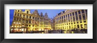 Framed Grand Place, Brussels, Belgium