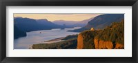 Framed Columbia River OR