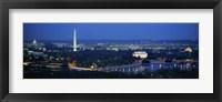 Framed Panoramic view of Washington DC
