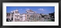 Framed Roman Forum, Rome, Italy