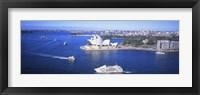 Framed Sydney Harbor, Sydney, Australia