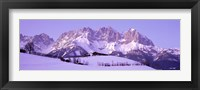 Framed Wilder Kaiser Austrian Alps