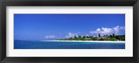 Framed Beach Scene Maldives