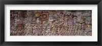 Framed Bas Relief Angkor Wat Cambodia