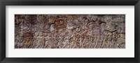 Framed Bas Relief Angkor Wat Cambodia