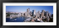 Framed Skyscrapers in a city, Sydney, New South Wales, Australia