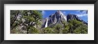 Framed Yosemite Falls Yosemite National Park CA