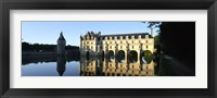 Framed Chateau de Chenonceaux Loire Valley France