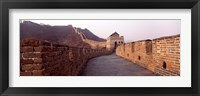 Framed Path on a fortified wall, Great Wall Of China, Mutianyu, China